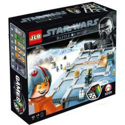 JLB 3D20 Classic Battle Of Hoth Xếp Hình Trận Chiến ở Hoth 317 Khối