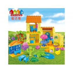 Jun Da Long Toys JDLT 5039A Duplo Amazing House Xếp Hình Ngôi Nhà Lý Tưởng 68 Khối