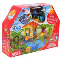Jun Da Long Toys JDLT 5041A Duplo Open Air Swimming Pool Xếp Hình Bữa Tiệc Ngoài Bể Bơi 39 Khối