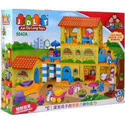 Jun Da Long Toys Jdlt 5042A (NOT Lego Duplo Sweet Home ) Xếp hình Tòa Nhà Của Bé 143 khối