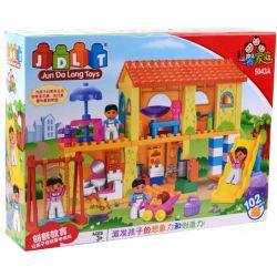 Jun Da Long Toys Jdlt 5043A (NOT Lego Duplo House Of Kids ) Xếp hình Ngôi Nhà Của Bé Và Các Bạn Nhỏ 102 khối