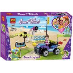 Winner 20003 (NOT Lego Good Fellow Beach Sport ) Xếp hình Chơi Thể Thao Năng Động Trên Bờ Biển Cùng Cô Gái 138 khối