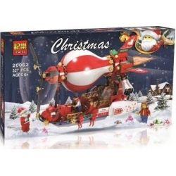 Winner Jemlou 20062 Christmas Steampunk Christmas Airship Xếp Hình Tàu Bay Khí Cầu Giáng Sinh 327 Khối