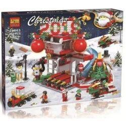 Winner Jemlou 20063 Christmas 2019 Christmas Xếp hình Giáng Sinh Đón Chào Năm 2019 304 khối