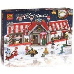Winner Jemlou 20066 Christmas Christmas House Xếp hình Ngôi Nhà Giáng Sinh 492 khối