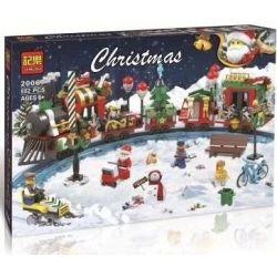 Winner Jemlou 20067 Christmas Christmas Train Xếp Hình Chuyến Tàu Lửa Mùa Giáng Sinh 552 Khối