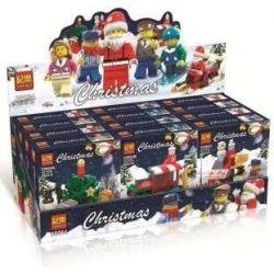 Winner Jemlou 20064 Christmas 6 Christmas Scenes Xếp hình Những Khung Cảnh Giáng Sinh An Lành 0 khối