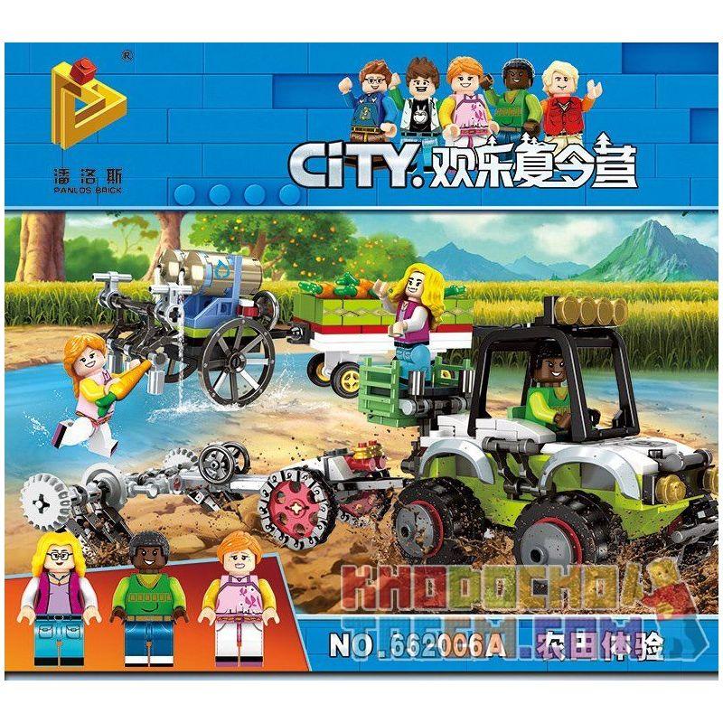 Panlosbrick 662006A (NOT Lego Summer Camp Farmland Experience ) Xếp hình Trải Nghiệm Thú Vị Của Bé Ở Nông Trại 406 khối