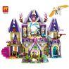 Bela 10415 Lepin 30001 Lele 79225 (NOT Lego Elves 41078 Skyra's Mysterious Sky Castle ) Xếp hình Lâu Đài Thần Bí Trên Không Của Skyra 809 khối
