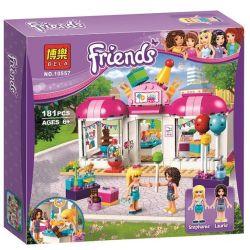 Sheng Yuan SY838 Bela 10557 Friends 41132 Heartlake Party Shop Xếp hình Cửa Hàng Bán Đồ Tiệc Tùng 202 khối