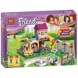 Lepin 01050 Lele 37047 Bela 10774 Friends 41325 Heartlake City Playground Xếp hình Sân Chơi Thành Phố Heartlake 341 khối