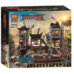 Lepin 06083 Bela 10941 Sheng Yuan 1148 SY1148 Ninjago Movie 70657 Ninjago City Docks Xếp hình Bến Thuyền Ninjago 3979 khối