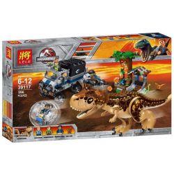 Sheng Yuan 1080 SY1080 Bela 10926 Lele 39117 Jurassic World 75929 Carnotaurus Gyrosphere Escape Xếp hình Carnotaurus Trốn Thoát Khỏi Khu Rừng Khủng Long 648 khối