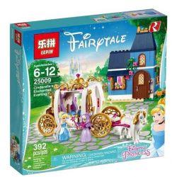 Sheng Yuan 949 SY949 Decool 70219 Lepin 25009 Lele 37046 Disney Princess 41146 Cinderella's Enchanted Evening Xếp hình Đêm Quyến Rũ Của Cô Gái Lọ Lem 367 khối