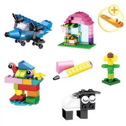 Lepin 42009 Sheng Yuan 962 SY962 (NOT Lego Classic Creative Bricks ) Xếp hình Khối Sáng Tạo 304 khối