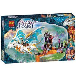 Bela 10550 (NOT Lego Elves 41179 Queen Dragon's Rescue ) Xếp hình Giải Cứu Nữ Hoàng Rồng 841 khối
