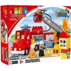 Jun Da Long Toys JDLT 5152A Duplo Dangerous Firefighting Xếp Hình Cuộc Chữa Cháy Hiểm Nguy 36 Khối