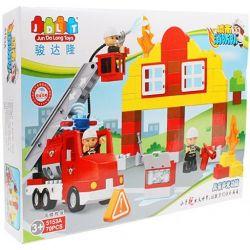 Jun Da Long Toys JDLT 5153A Duplo High-rise Rescue Xếp Hình Cuộc Giải Cứu Nguy Kịch 70 Khối
