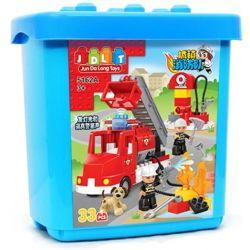 Jun Da Long Toys JDLT 5162A Duplo Put Out Of The Fire Xếp Hình Dập Tắt Đám Cháy 33 Khối