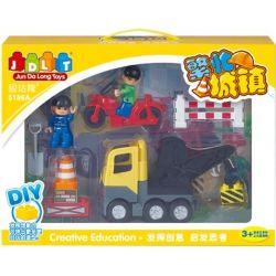Jun Da Long Toys JDLT 5186A Duplo Humorous Engineer And Me Xếp Hình Bé Và Chú Kỹ Sư Hóm Hỉnh 0 Khối