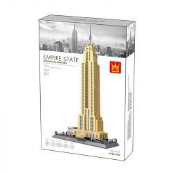 Wange 5212 (NOT Lego Building of New York The Empire State Building Of Newyork ) Xếp hình Tòa Nhà Chọc Trời New York 1938 khối