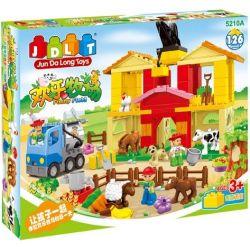 Jun Da Long Toys JDLT 5210A Duplo Funny Field Xếp Hình Cánh Đồng Vui Vẻ 126 Khối
