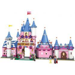 Winner 5006 Disney Princess Xếp hình Lâu Đài Của Công Chúa Và Hoàng Tử 900 khối