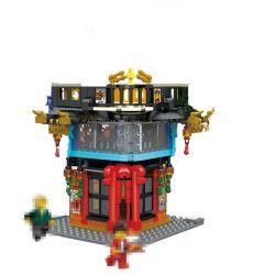 Lepin 03057 Ninjago Movie Ninja City Headquarters Xếp hình Các Trụ Sở Thành Phố Ninja 1955 khối