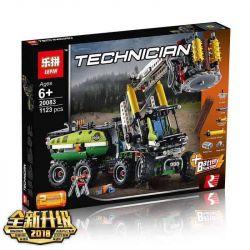 Lepin 20083 Technic 42080 Forest Harvester Xếp hình Máy Gặt Mùa Thu Hoạch Động Cơ Pin 1003 khối