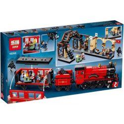 Lepin 16055 Bela 11006 Trains 75955 Hogwarts Express Xếp Hình Tàu Vận Chuyển Hogwarts 897 Khối