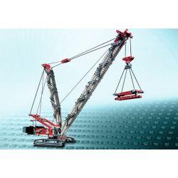 Bela 9601 (NOT Lego Technic 8288 Crawler Crane ) Xếp hình Máy Trục Cần Cẩu 800 khối