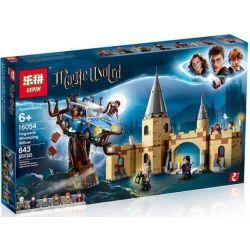 Lepin 16054 Bela 11005 Lele 39145 Castle 75953 Hogwarts Whomping Willow Xếp hình Cổng Vào Thành Phố Phép Thuật Hogwarts 753 khối