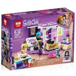 Lepin 01065 Sheng Yuan 1028C SY1028C Friends 41342 Emma's Deluxe Bedroom Xếp Hình Phòng Ngủ Sang Trọng Của Emma 183 Khối
