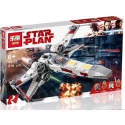 Lepin 05145 Star wars 75218 X-Wing Starfighter Xếp hình Phi Thuyền Chiến Đấu X-Wing 731 khối