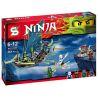 Sheng Yuan SY396 Ninjago Movie Xếp Hình Thuyền Bay 361 Khối