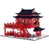 Wange 6312 (NOT Lego Modular Buildings China Ancient Hotel ) Xếp hình Khách Sạn Cổ 2038 khối