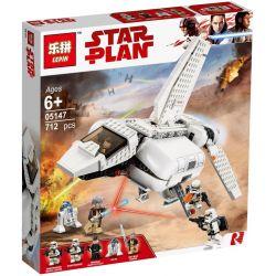 Lepin 05147 Star wars 75221 Imperial Landing Craft Xếp hình Tàu Vận Chuyển Hoàng Gia 636 khối