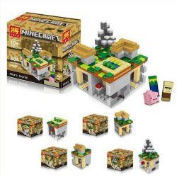 Lele 79047 Minecraft 21105 The Village Xếp hình Thế Giới Vi Mô 466 khối