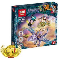 Lepin 30017 (NOT Lego Elves 41193 Aira & The Song Of The Wind Dragon ) Xếp hình Aira Và Bài Ca Của Rồng Gió 451 khối