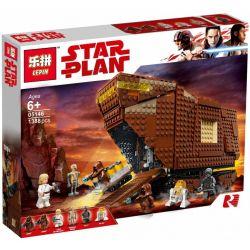 Lepin 05146 Star wars 75220 Sandcrawler Xếp hình Ngôi Nhà Đạo Sỹ Nhặt Rác 1239 khối