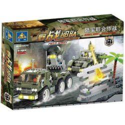 Kazi Gao Bo Le Gbl Bozhi KY84010 SWAT Special Force Field Army:army Joint Operations Xếp hình Xe Quân Sự Đi Rừng 671 khối