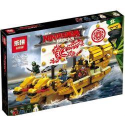 Lepin 03062 Ninjago Movie Xếp hình Thuyền Rồng Hải Tặc 660 khối