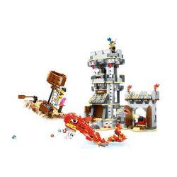 Wange 54041 (NOT Lego Pirates of the Caribbean Sea Monster Attack ) Xếp hình Thủy Quái Tấn Công 747 khối