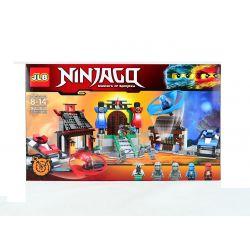 Jlb 3D31 Ninjago Movie Ninjago's World Xếp hình Thế Giới Của Ninja Lốc Xoáy 778 khối