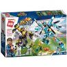 Enlighten 3007 (NOT Lego Transformers Decisive Football Strike ) Xếp hình Trận Bóng Đá Quyết Định Của Các Robot 938 khối