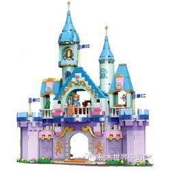 Xingbao XB-12024 Disney Princess Castal Peincess:Prince Castle Xếp Hình Lâu Dài Của Công Chúa Và Hoàng Tử 873 Khối