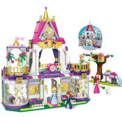 Enlighten 2611 (NOT Lego Disney Princess Royal Winston College Of Princess Leia ) Xếp hình Trường Học Hoàng Gia Của Công Chúa Leia 626 khối