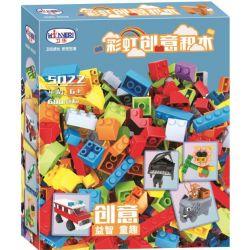 Winner 5022 (NOT Lego Classic ) Xếp hình Khối Xây Dựng Sáng Tạo 600 khối