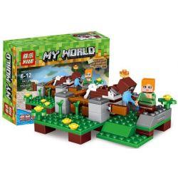 Yile 838A 839A 840A 841A Minecraft My World Xếp hình 4 Trong 1 600 khối