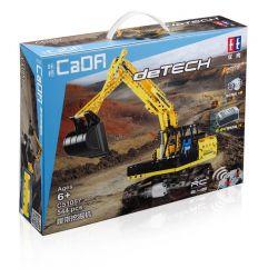 Doublee Cada C51057 C51057W (NOT Lego Technic Derech ) Xếp hình Máy Xúc Đất 544 khối